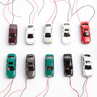 Car order car paint - 1 Flaring Light model cars Wired Painted Model Cars Toy Vehicles order lt no track