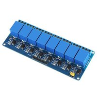 Wholesale Pic Relays - S5Q 5V 8 Channel Relays Module Optocoupler Board For PIC AVR DSP ARM PLC Arduino AAAETK