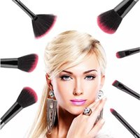 Wholesale power makeup for sale - Group buy Professional Black Mermaid Brush Spiral Makeup Brush Set Cream Face Power Brushes Beauty Cosmetic Brushes