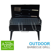 Wholesale Outdoor convenient type of barbecue stove portable barbecue stove folding barbecue stove box type barbecue stove