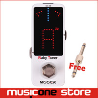 Wholesale Mooer Guitar - Mooer Baby Tuner Guitar Effect Pedals A High Precision Tuning Micro Pedals Monaural Jack Design True Bypass Switch MU0525