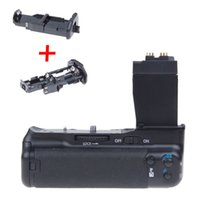 Wholesale Eos T4i - Vertical Battery Grip Holder for Canon EOS 600D 550D 650D 700D Rebel T2i T3i T4i New Arrival Hot Sale Camera Battery Holder ZM00074