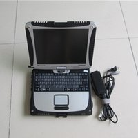 Wholesale bmw diagnostic laptop online - auto repair new alldata and mitchell installed laptop toughbook cf19 touch screen computer all data mitchell diagnostic data