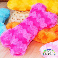 chews pink chirstmas wj002 dog suppliers wholesale plush dog toy 2111cm bone squeaky toys