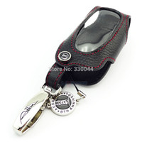 Wholesale accessories for rav4 - Genuine Leather Car key case for Toyota Camry Corolla RAV4 Highlander Crown Lander Cruiser Prado Venza ZELAS car accessories