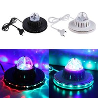 2015 Colorido Girassol LED RGB Stage Light Dynamic Magic Iluminação RGB Effect Par Light Discoteca DJ Party KTV Stage Wall Decorativa luz noturna
