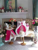 Wholesale Ivory Faux Fur Wrap Girl - Warm Winter Fuchsia Hooded Flower Girls Faux Fur Shawl Wrap Jacket Winter Bridal Cloaks Shawls with Hat 2016 Christmas Fur Trim For Kid