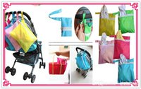 Wholesale Doomagic Clothing - Doomagic Baby Diaper Nappy Bag Stroller Accessories Waterproof Baby out dirty clothes storage bag stroller organizer bags Hung Bag 5p 530
