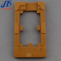 Wholesale Screen Separator Mold - 10pcs lot LCD Touch Screen Panels Separator Repair tool mold machine holder mould For iPhone 5 5g 5c 5S