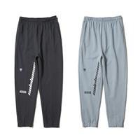 Wholesale Bottoming Pencil Pants - Kanye West Season 5 Jogger Pants Calabasas Print Cotton Sweatpants Men Black Gray Casual Trousers Hip Hop Skateboard Bottoms Pant PXG1107