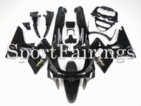 Wholesale Zzr Cowling - Injection Fairings For Kawasaki ZZR600 ZZR-400 93 94 95 96 97 ABS Plastic Complete Motorcycle Fairing Kits Cowling Gloss Black Gold Decals