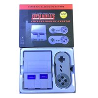 Wholesale Nes Snes - 2017 NES Super Mini Classic SFC TV Game Console Entertainment System Buit-in 400 Classic games SFC NES SNES Games Console 8 bit