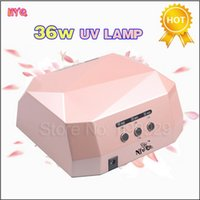 Wholesale Machine Lamp Best Quality - Wholesale-Best Quality 36W LED CCFL Nail Art Lamp Nail Dryer Nail Care Machine for UV Gel Nail Polish Dry