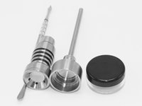 Wholesale Bong Tool Set mm Domeless Gr2 domeless Titanium Nail Carb Cap grade for both MM MM glass water bongs