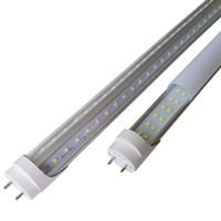 1.2m t8 g13 ledli boru toptan satış-3000 K 4000 K 5000 K G13 T8 LED Tüp Işıkları 4ft 5ft 6ft 8ft V Şekli Çift Sıra LED Tüpler Soğutucu Kapı Dondurucu LED Aydınlatma