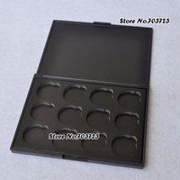 Wholesale Empty Magnetic Palette Pans - Wholesale-one empty palette without pans Magnetic Empty Eye shadow Palette Interchangeable 26mm Pan Size