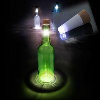 luzes superiores da garrafa venda por atacado-Garrafa de luz LED Cortiça Romântico Em Forma de Cortiça Garrafa Vazia Plug Luz Recarregável USB Garrafa Cork Top Vinho Lâmpada Novo Design de Moda