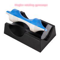 giroscópio magnético venda por atacado-Criativo Magnético Girando Giroscópio Criativo Ornamentos Presentes-Cor Aleatória