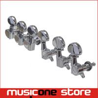 tuning-stöpsel-tuner-maschinenköpfe groihandel-3R3L Chrome Tuning Pegs Mechaniken Tuner für E-Gitarre Teile Freies Verschiffen MU0461