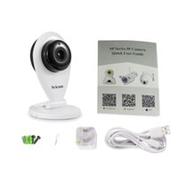 Scricam SP009A Mini HD 720P WiFi Menor câmera IP sem fio P2P Webcam H.264 IR-CUT Night Vision Áudio ONVIF TF 128GB Max
