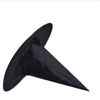 Compra Streghe Cappello Halloween-Nero Oxford Burst Hood Seal Harry Potter Magic Hat Hat Halloween Strega Tutto Black Wizards Cappelli 23g