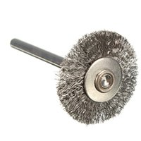Wholesale Steel Wire Wheel Brushes - 10pcs lot 22mm Stainless Steel Wire Wheels Brushes for Die Grinder Dremael Rotary Tools order<$18no track