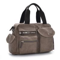 Wholesale Cavas Bags - Wholesale-Newest Retro Fashion Cavas Messenger Bag, School Shoulder, Travelling Bag, Women And Man Bag 4 Colors, Wholesales,Free Ship1213#