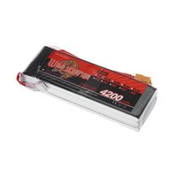Wholesale Helicopter Car Rc - Brand Wild Scorpion 4200mAh 60C MAX 70C 3S XT60 Plug Lipo Battery 11.1V for RC Car Airplane Helicopter Part
