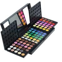 multi sombra colorida venda por atacado-Atacado-atacado profissional 180 cores cosméticos multi-combinação Maquiagem definir Cor Make Up Eyeshadow Palette 20 set / lote frete grátis