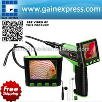 """Wholesale Endoscope Lcd 9mm - 3.5"""" Wireless TFT LCD Inspection Video Camera Borescope Endoscope Zoom Rotate 1Meter 1M Cable with 9mm Waterproof Camera Head"""