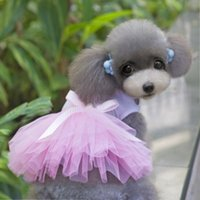 Coats, Jackets & Outerwears Spring/Summer Chirstmas Heart Princess Pet Dresses With Bowknot Lace Pink Purple Red Dog Coat Brand New Good Quality For Spring Automn Min Order 50PCS