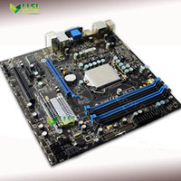 Wholesale I7 Cpu 1156 - Wholesale-Second-Hand For MSI H55M-P31 Desktop Motherboard H55 DDR3 1156 Micro-ATX 16GB VGA For Core i7 i5 i3 CPU On Sale