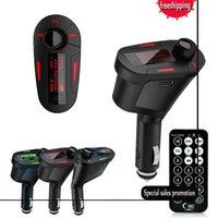 ingrosso giocatore caldo mp4-2017 Kit di vendita calda Car MP3 Player Modulatore di trasmettitore FM wireless USB SD MMC LCD con telecomando