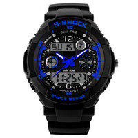 Wholesale Diver Clock - Sports Watch Men's Fashion Watch Digital Quartz Clock Military Diving Watch