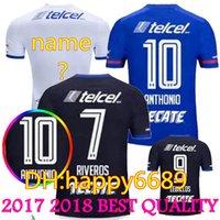 Wholesale Mora Black - 2017 2018 Cruz Azul Adults Futbol Camisa Mora Caute Mendez Benitez Gimenez Soccer Jerseys Football Camisetas Shirt Kit Maillot Liga MX 17 18