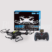 Wholesale Metal Quadcopter - JJRC H8C RC Quadcopter 4CH 6 Axis 2MP Camera RTF H8C Helicopter Kids Toys Aircraft 2.4GHz Remote Control Christmas Gifts Syma X5C