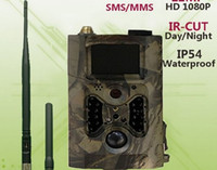 ingrosso nascondere la fotocamera per la casa-videocamere per fucile da caccia camaras espia caccia motion trail telecamere mms gprs gsm fauna selvatica fotocamera sport led foto trappole