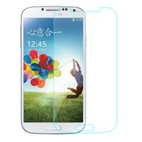 Wholesale Steel S4 - Hot selling!S4cell phone Screen Protes toughened glass membrane film s4 mobile phone film HDi9500 steel explosion-proof membrane