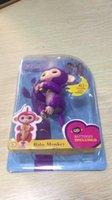 Wholesale Active Years - Finger Monkey lings Pet Interactive Baby Kids Active Finger Toys Black Pet Toys Kids Gift Gifts Colors Kids Gifts Fingers Monkeys Christmas