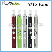 Wholesale Ego Mt3 Kits - lectronic Cigarettes Electronic Cigarette Kits EVOD MT3 E Cigarette MT3 Starter Kits Blister E Cigs MT3 Atomizer EVOD Battery Ego Electr...