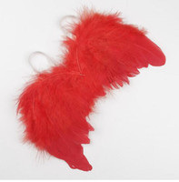 Wholesale costume feathers online - Hot Kids Newborn Baby Infant Fancy Party Fairy Feather Angel Wings Costume Event Party
