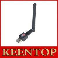 pc wifi inalámbrico usb al por mayor-Repetidor Wifi Wifi Booster Ralink Mini Pc Adaptador 150m USB Antena Wireless Computer Tarjeta de red 802.11n / g / b Lan + Factory Outlet 1pcs