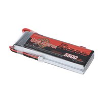 Wholesale New Rc Boat Brand - Brand New Wild Scorpion 5500mAh 30C LiPo Battery 7.4V 2S with T Plug for RC Car Airplane Helicopter Boat order<$18no track