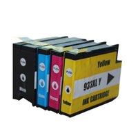 Wholesale Hp 932 933 - 4 color 1 set compatible ink cartridges compatible HP932XLBK hp933XL hp932 hp933 hp 932 933 CN053A-056A for HP Officejet 6100 6600 printer