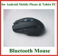 Wholesale Bluetooth Mouse Android Tablet - 1pc Optical Wireless Bluetooth 3.0 Mouse 800DPI for Android Mobile Phone Tablet PC Laptop Notebook PC 5 Colors High Quality