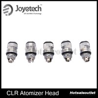 Wholesale ego replacement atomizer head - 2015 Joyetech Ego One Atomizer Head Ego One CLR Head 0.5ohm 1.0ohm Replacement Coils For Ego One Atomizer 100% Authentic