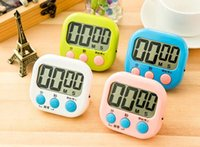 Wholesale large digital timers - Fashion Hot Large LCD Digital Kitchen Cooking Timer Count-Down Up Clock Loud Alarm Magnetic