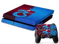Wholesale Playstation4 Controller - New Arrival Trabzonspor Football Team Skin Sticker For Sony Playstation4 PS4 Console&Controller Protective Stickers High Quality