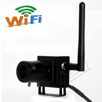 Manuel varifocale Zoom ONVIF 720P Objectif HD Mini Wifi sans fil Caméra IP P2P Plug-and-Play Android iPhone PC