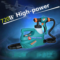 Wholesale high quality W paint air brush electric spray gun SG ml V with funnel the latest version